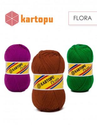 KARTOPU - Kartopu Flora El Örgü İplikleri