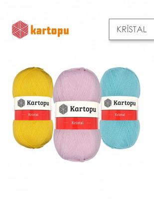 KARTOPU - Kartopu Kristal El Örgü İplikleri