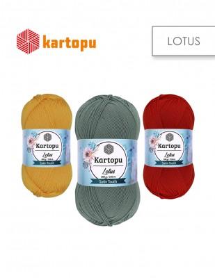 KARTOPU - Kartopu Lotus El Örgü İplikleri