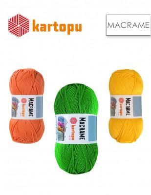 KARTOPU - Kartopu Macrame El Örgü İplikleri
