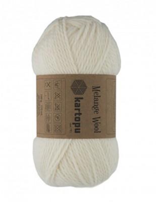 KARTOPU - Kartopu Melange Wool El Örgü İplikleri (1)