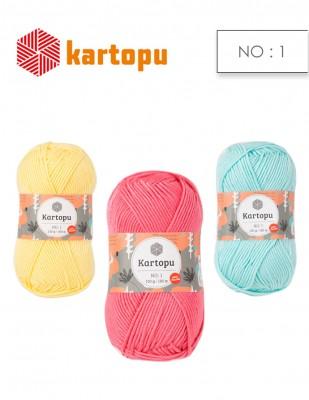KARTOPU - Kartopu No.1 El Örgü İplikleri