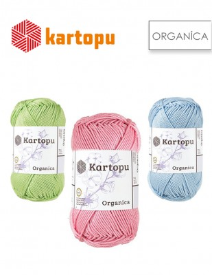 KARTOPU - Kartopu Organica El Örgü İplikleri