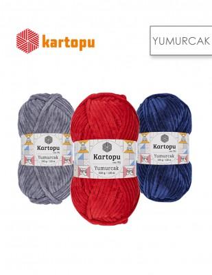 KARTOPU - Kartopu Yumurcak El Örgü İplikleri