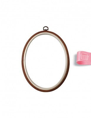 NURGE - Nurge Kasnak Pano Çerçeve - Oval - 10 x 13,5 cm
