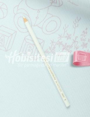 - Koh-i Noor Tekstil Kalemi - Beyaz