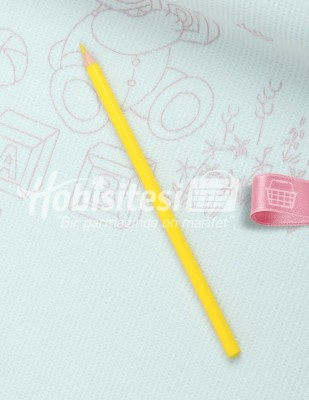 - Koh-i Noor Tekstil Kalemi - Sarı