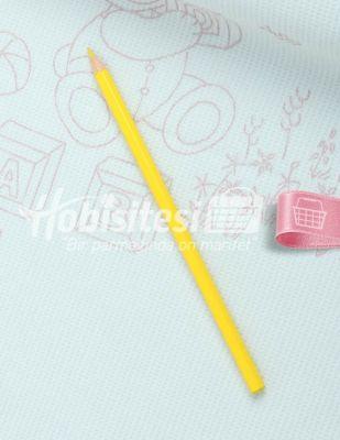 Koh-i Noor Tekstil Kalemi - Sarı