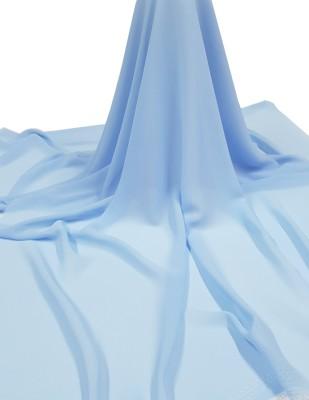 - Krep Şifon Kumaş - En 150 cm - Mavi