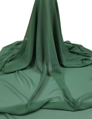 - Krep Şifon Kumaş - En 150 cm - Yeşil