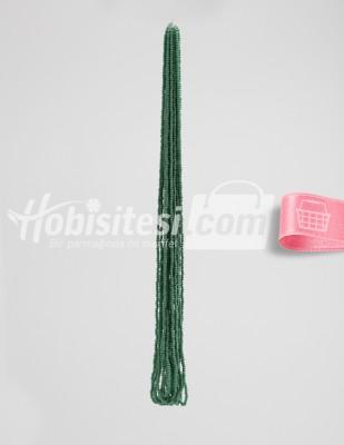 - Kum Boncuk - Ördek Başı Yeşili - 12 Dizi