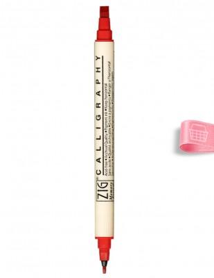 KURETAKE - Kuretake ZİG Calligraphy Pen, Kaligrafi Kalemi İki Uçlu - 2.0 mm, 5.0 mm (1)