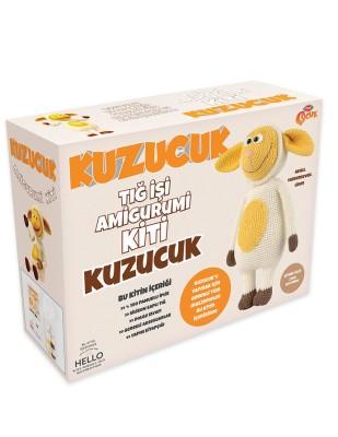 TUVA - Lisansli Amigurumi Kiti - Kuzucuk