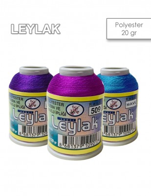 LEYLAK - Leylak Polyester Dantel İplikleri