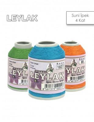 LEYLAK - Leylak Suni İpek - İğne Oyası İplikleri - 20 gr - 4 Kat
