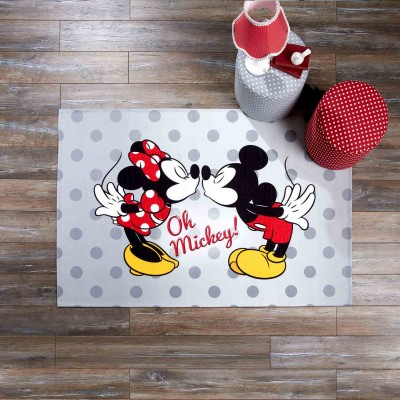 - Lisanslı Minnie, Mickey Love Halı - 120 x 180 cm