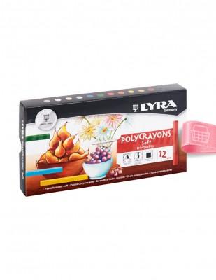 LYRA - Lyra Pastel Boya Seti - 12 Renk