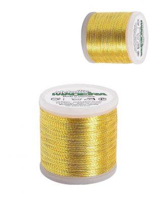 Madeira El Nakış Simi - Metallic 6 - Altın 43