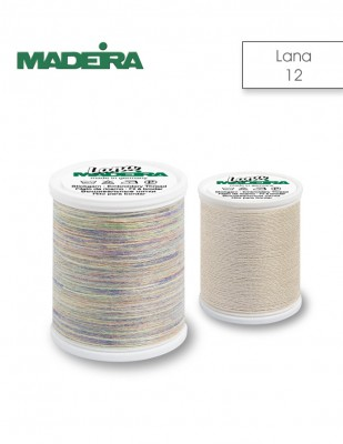MADEIRA - Madeira Lana El Nakış İplikleri - No 12 - 40 m