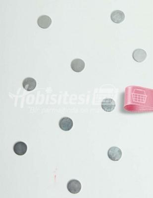 - Magnet / Mıknatıs - Gümüş - Ç: 10 mm - 10 Adet