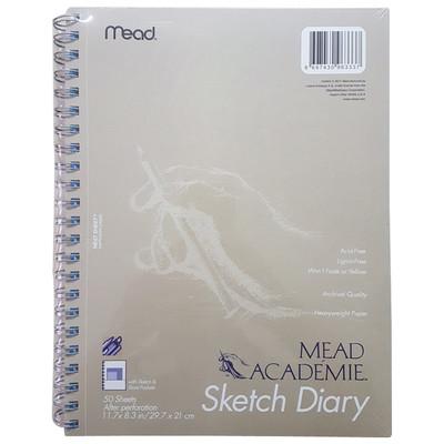 MEAD - Mead Academie Sketch Diary - Taslak ve Çizim Defteri - A4 50 Yaprak