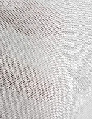 - Mermarşahi Bezi - Tülbent - Pamuk Kumaş - En 100 cm - Beyaz