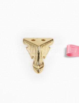 - Metal Ayak - Altın - 2,5 cm - No: 14