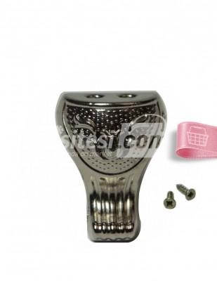 - Metal Ayak - Gümüş - 3 cm - No 6