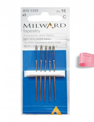 MILWARD - Milward Etamin İğnesi - No 16 - 5 Adet
