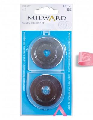 MILWARD - Milward Yedek Bıçak - Çap 45 mm - 2 Adet