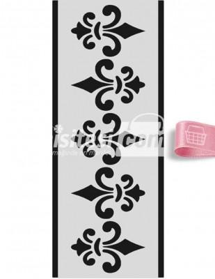 MOOD - Mood Stencil - Yapışkanlı - 10 x 25 cm - U076