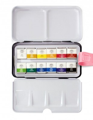 MUNGYO - Mungyo Professional Watercolor Sulu Boya Seti - Full Size - 12 Renk (1)