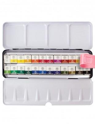 MUNGYO - Mungyo Professional Watercolor Sulu Boya Seti - Half Size - 24 Renk (1)