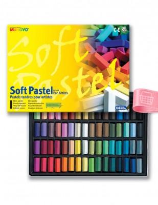 MUNGYO - Mungyo Soft Pastel Boya Seti - 64 Renk
