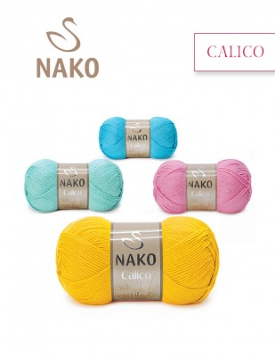 NAKO - Nako Calico El Örgü İplikleri