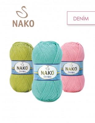 NAKO - Nako Denim El Örgü İplikleri