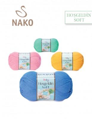 NAKO - Nako Hoş Geldin Soft El Örgü İpliği