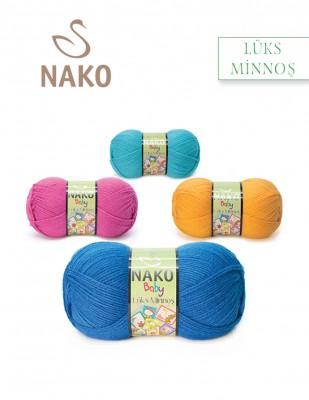 NAKO - Nako Lüks Minnoş El Örgü İplikleri