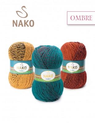 NAKO - Nako Ombre El Örgü İpliği