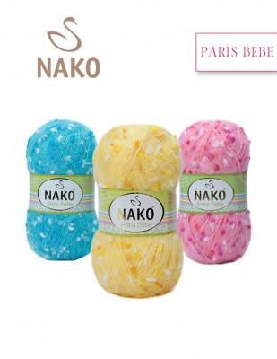 NAKO - Nako Paris Bebe El Örgü İplikleri