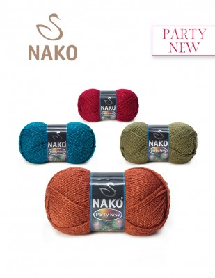 NAKO - Nako Party New El Örgü İpliği