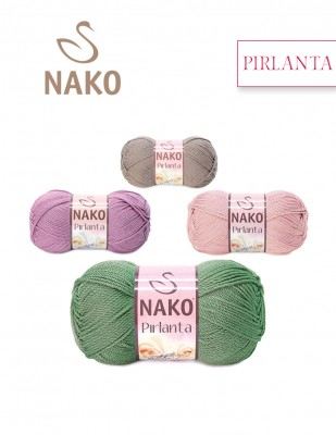 NAKO - Nako Pırlanta El Örgü İplikleri