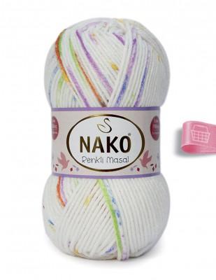 NAKO - Nako Renkli Masal El Örgü İplikleri (1)