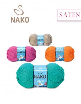NAKO - Nako Saten El Örgü İpliği