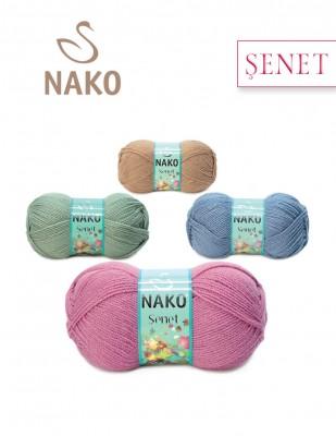 NAKO - Nako Şenet El Örgü İplikleri