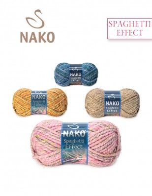 NAKO - Nako Spaghetti Effect El Örgü İpliği