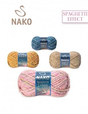 NAKO - Nako Spaghetti Effect El Örgü İplikleri