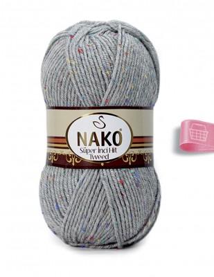 NAKO - Nako Süper İnci Hit Tweed El Örgü İplikleri (1)