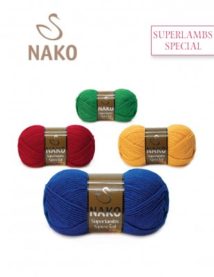 NAKO - Nako Superlambs Special El Örgü İpliği