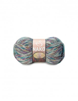 NAKO - Nako Superlambs Tweed New El Örgü İpliği (1)